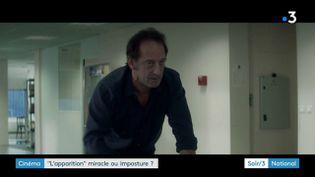 Vincent Lindon dans L'apparition (France 3)