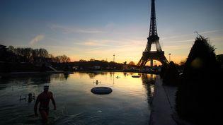 300 millions d'euros vont être engagés pour valoriser la tour Eiffel, a annoncé la mairie de Paris vendredi 13 janvier 2017. (OLIVIER MORIN / AFP)