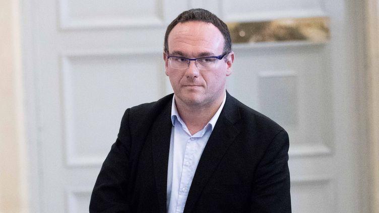 Damien Abad, levice-président du parti Les Républicains. (CHRISTOPHE MORIN / MAXPPP)