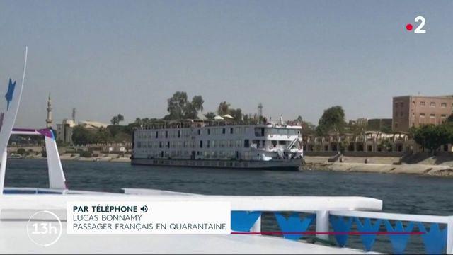 Covid-19 : des Français bloqués sur un bateau en Égypte