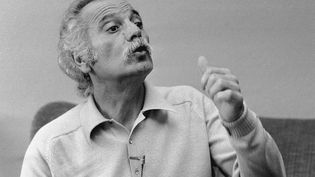 GeorgesBrassens, le 13 mars 1979. (BANQUE D'IMAGES MEDITERRANEENNE / MAXPPP)