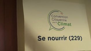 Dérèglement climatique : la convention citoyenne sur le climat donne la parole aux Français (FRANCEINFO)