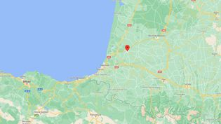 Les douanes de Dax(Landes) ont intercepté près de 780 kg de résine decannabisdans un camion en provenance d'Espagne, le 18 juin 2021. (GOOGLE MAPS)
