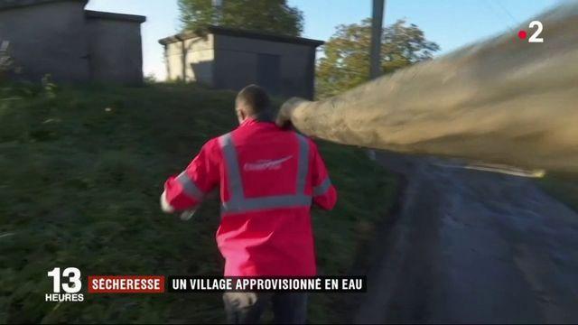 Sécheresse : le village de Champfromier manque d'eau