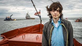 Boyan Slat,23 ans, à l'origine du projet Ocean Cleanup. (REMKO DE WAAL / ANP)