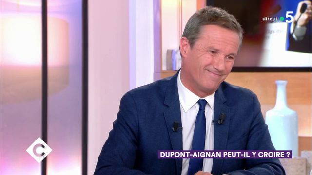 """Dupont-Aignan s'en prend à l'équipe de """"C à vous"""", l'interview écourtée"""