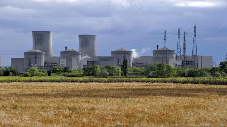 La centrale nucléaire du Tricastin (Drôme), en 2017. (TRIPELON-JARRY / ONLY FRANCE / AFP)