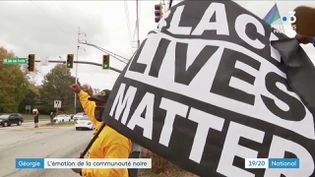 Dans l'État de Géorgie, à Atlanta, la communauté noire s'est fortement mobilisée pour l'élection présidentielle américaine. (France 3)
