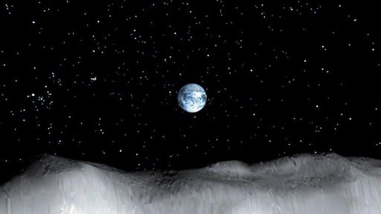 L'astéroïde Toutatis, en 2004, s'était approché de la terre mais à 1.5 Millions de kilomètres de la surface. (CORTESIA / NASA / NOTIMEX)