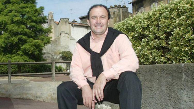Le nouveau président de l'Aviron, Manu Mérin, en 2004