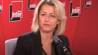 Barbara Pompili, le 8 septembre 2020 sur France Inter. (FRANCEINTER / RADIO FRANCE)