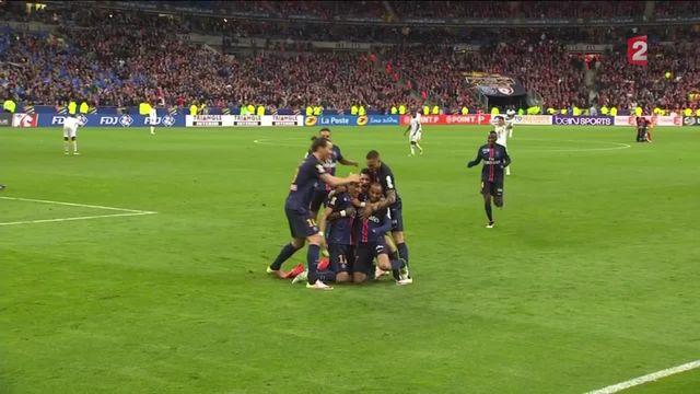 Finale de la Coupe de la Ligue : deuxième but parisien