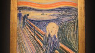 """""""Le Cri"""" (1895), d'Edvard Munch, est estimé à plus de 60 millions d'euros. (MARIO TAMA / GETTY IMAGES NORTH AMERICA)"""