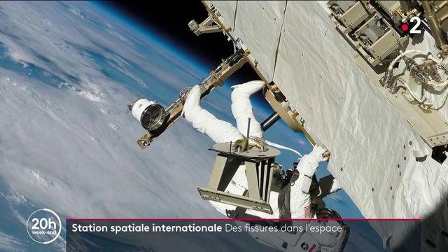 Station spatiale internationale : une alerte incendie et des fissures à bord inquiètent