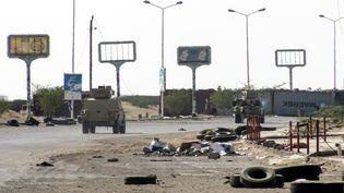 Un véhicule des forces pro-gouvernementales à Hodeida, au Yémen, le 18 novembre 2018. (AFP)