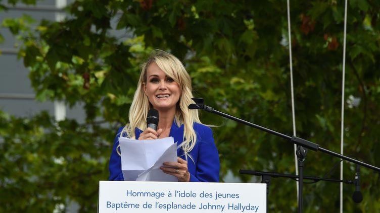 Laetitia Hallyday, le 15 juin 2019 à Toulouse (Haute-Garonne). (ERIC CABANIS / AFP)