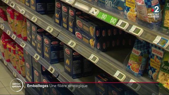 Emballages : une filière stratégique en période de confinement