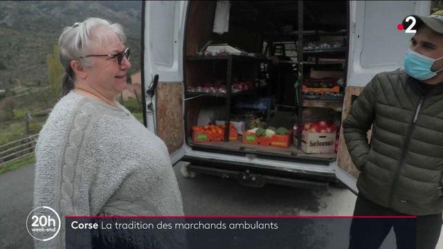 Corse : à la rencontre d'un marchand ambulant, pour les anciens des villages