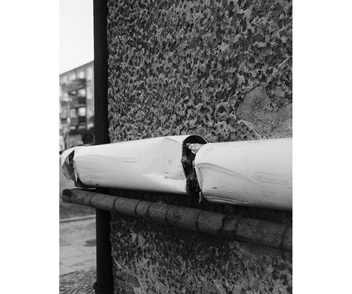 """Michael Schmidt, Sans titre, """"Architektur""""[Architecture], 1989–1991 (© Foundation for Photography and Media Art with the Michael Schmidt Archive)"""