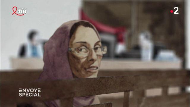 Envoyé spécial. Irak ; une Française devant les jeuges