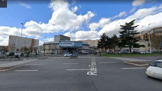 Le centre commercial de Garges-lès-Gonesse (Val-d'Oise). (CAPTURE D'ÉCRAN / GOOGLE MAPS)