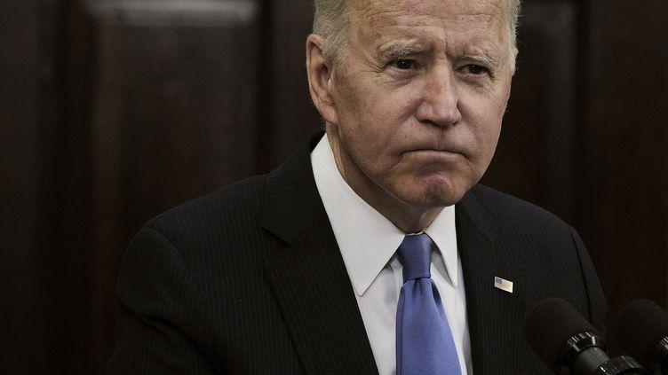 Joe Biden, le 13 mai 2021. (POOL / GETTY IMAGES NORTH AMERICA)