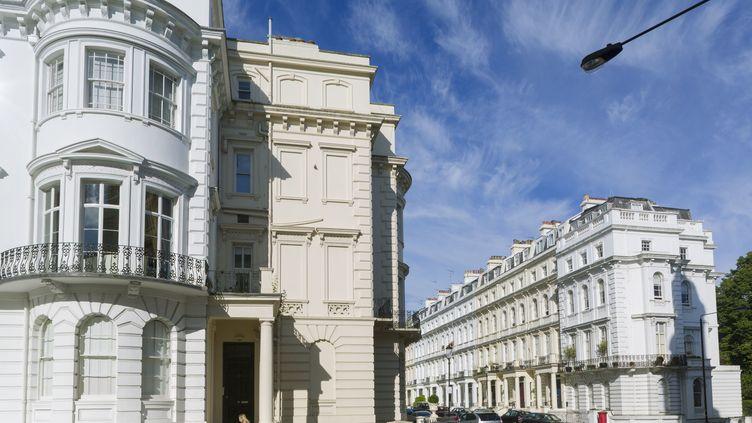Le quartier de NottingHill à Londres (RENAULT PHILIPPE / HEMIS.FR / HEMIS.FR)