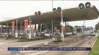 Le prix des péages augmente le 1er février. (FRANCE 3)