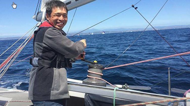 La photo de profil Facebook du navigateur japonais Mitsuhiro Iwamoto. (MITSUHIRO IWAMOTO / FACEBOOK)