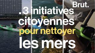 VIDEO. Trois initiatives citoyennes (et sportives) pour nettoyer les mers (BRUT)