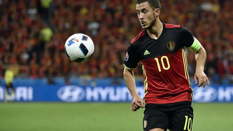 Eden Hazard (Belgique) (JEFF PACHOUD / AFP)