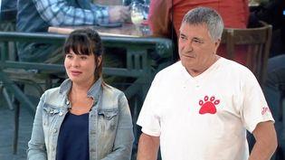 Jean-Marie Bigard et Presci Andreani. (FRANCE 3)