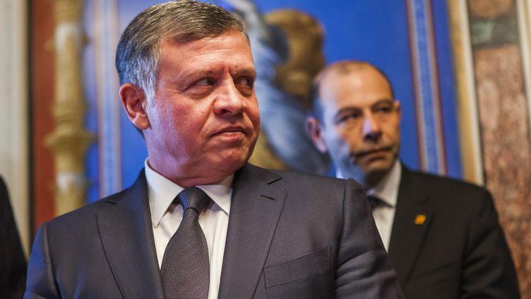 Le roi Abdallah II de Jordanie, à Washington, le 3 février 2015. (SAMUEL CORUM / ANADOLU AGENCY)