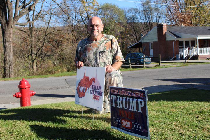 Ramon, dans le comté de Grant en Virginie-Occidentale (Etats-Unis), le 8novembre2020. (ROBIN PRUDENT / FRANCEINFO)