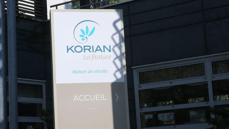 Un Ehpad Korian à Mulhouse en Alsace (photo d'illustration). (JEAN-FRAN?OIS FREY / MAXPPP)