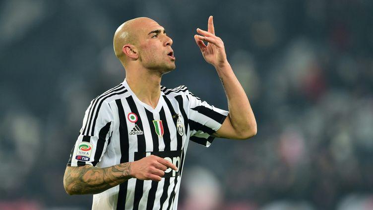 Zaza a été décisif pour la Juventus Turin (GIUSEPPE CACACE / AFP)