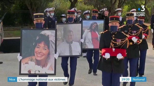 Attaque à Nice : un hommage national a été rendu aux trois victimes