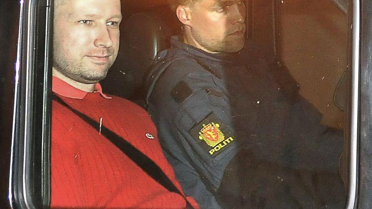 Anders Behring Breivik à Oslo (Norvège), le 25 juillet 2011. (JON-ARE BERG-JACOBSEN / AFP)