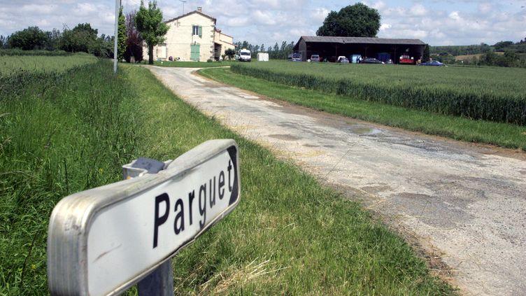 C'est dans cette maison située près de Fieux (Lot-et-Garonne) qu'une retraitée a mis fin aux jours de son mari, à sa demande, selon elle. (BORDERIE JEAN LOUIS / MAXPPP)