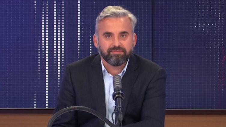 """Alexis Corbière,député La France insoumise de Seine-Saint-Denis,dans le """"8h30 franceinfo"""", samedi 15 mai 2021. (FRANCEINFO / RADIOFRANCE)"""