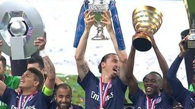 Coupe de France : le PSG réalise le Grand Chelem !