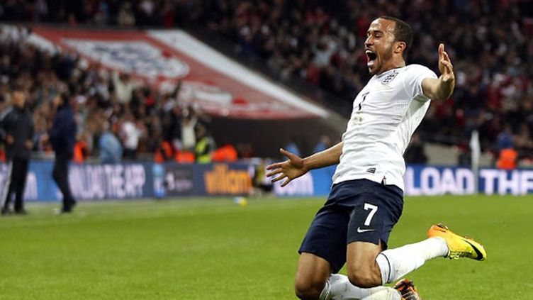 Andros Townsend fait respirer l'Angleterre (ADRIAN DENNIS / AFP)
