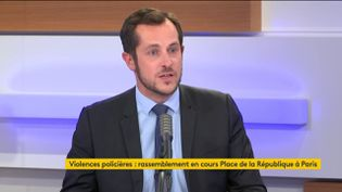 L'eurodéputé (RN) Nicolas Bay. (FRANCEINFO / RADIOFRANCE)