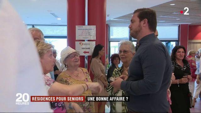 Retraités : les seniors plébiscitent les résidences services