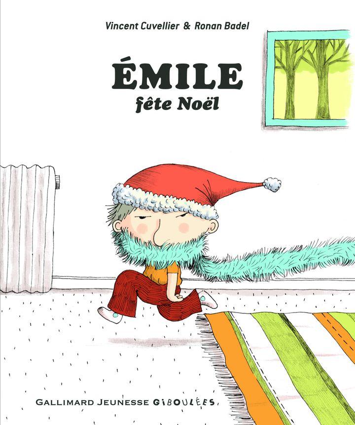 """""""Emile fête Noël"""" de V. Cuvellier et R. Badel (GALLIMARD JEUNESSE)"""