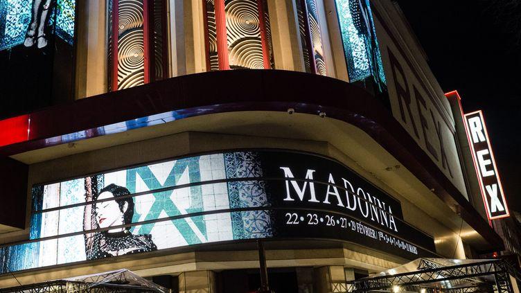 C'est au Grand Rex à Paris que Madonna achève son Madame X Tour, en février et mars 2020. (TRISTAN REYNAUD / SIPA)