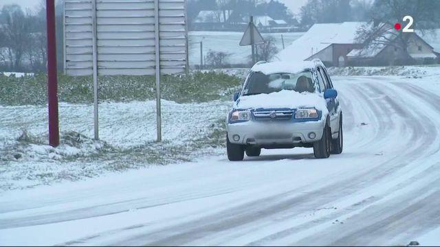 Météo : le Nord touché par un coup de froid et de la neige