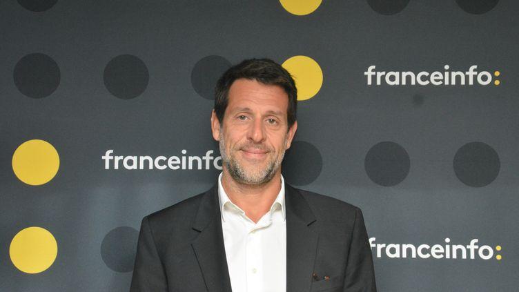 François Pelissier, patron des sports du groupe TF1. (RADIO FRANCE / JEAN-CHRISTOPHE BOURDILLAT)