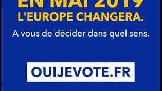 Clip du gouvernement pour inciter à voter pour les élections européennes. (CAPTURE D'ÉCRAN YOUTUBE)