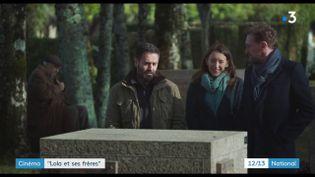 """Mercredi 28 novembre sort dans les salles obscures """"Lola et ses frères"""". Une comédie drôle et touchante réalisée par Jean-Paul Rouve. (FRANCE 3)"""